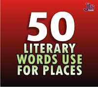 50 Literary Words Use for Places