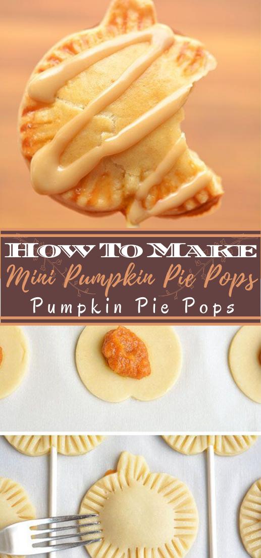 Mini Pumpkin Pie Pops #healthyfood #dietketo #breakfast #food