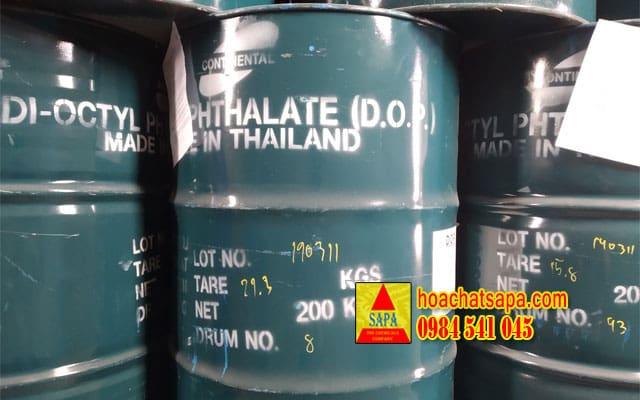 Chất hóa dẻo Di-Octyl Phthalate (DOP)