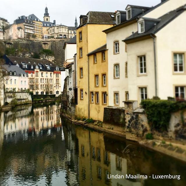 Kaupunkiloma Luxembourgissa