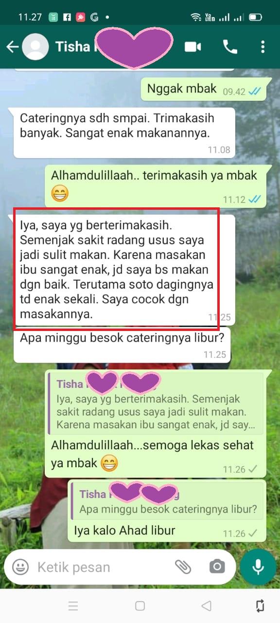 Catering Sehat Banyumanik Semarang
