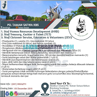 Loker Suraba Terbaru di PD. Taman Satwa KBS Terbaru November 2019