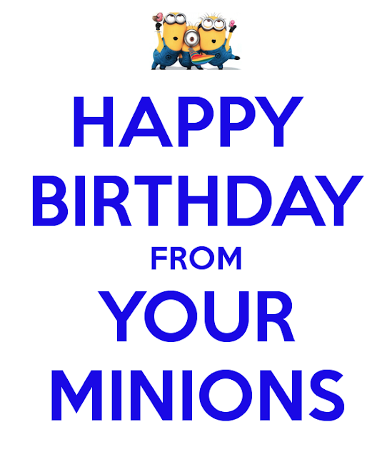 Minions Wishing for Birthday Images