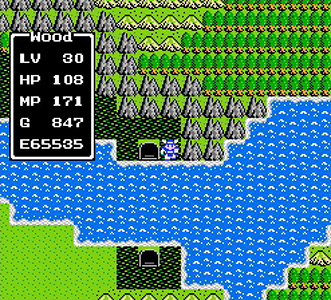 Dragon Quest 1 Map