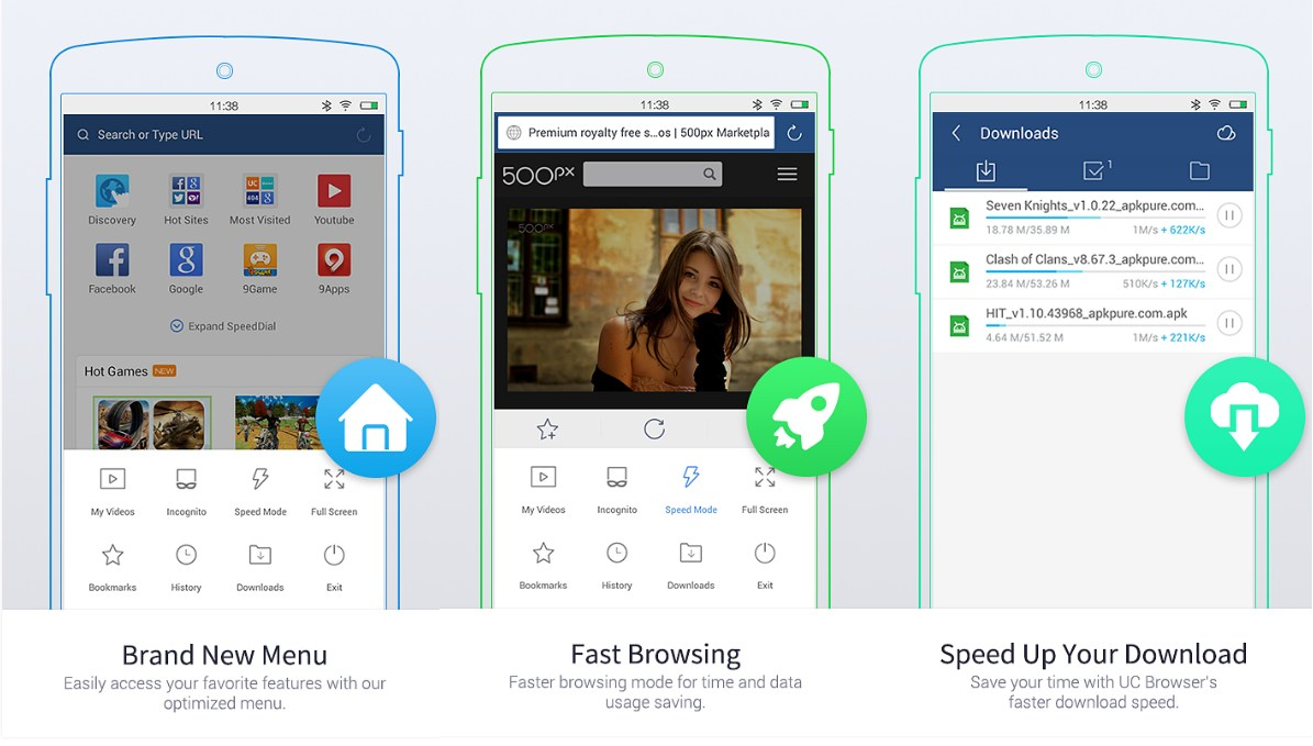UC Browser Mini - Smooth - Screenshots