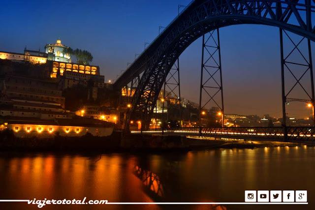 Puente de Don Luis I, Oporto, Portugal