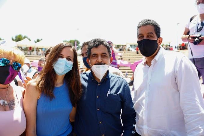 الأمينة العامة الجديدة لحزب بوديموس الإسباني تجدد دعم حزبها لكفاح الشعب الصحراوي