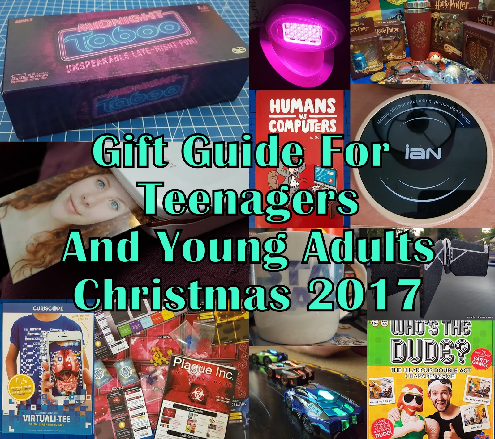 The Brick Castle Gift Guide For Teenagers And Young Adults Christmas 2017