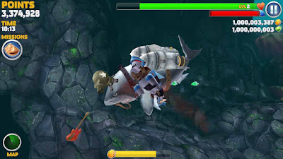 tips dan trik main hungry shark evolution