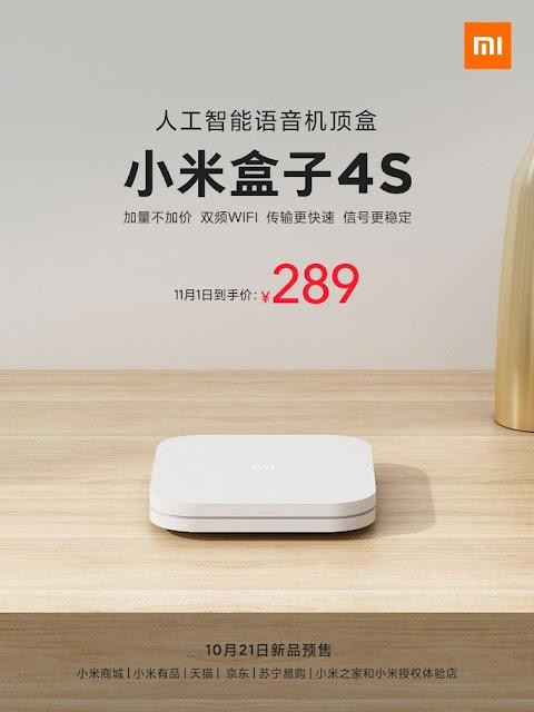 Xiaomi Mi Box 4S confirmada oficialmente
