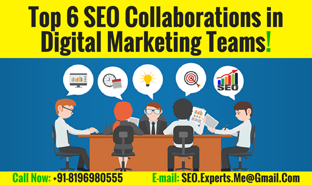 Top 6 SEO Collaborations in Digital Marketing Expert- Puneet Sharma