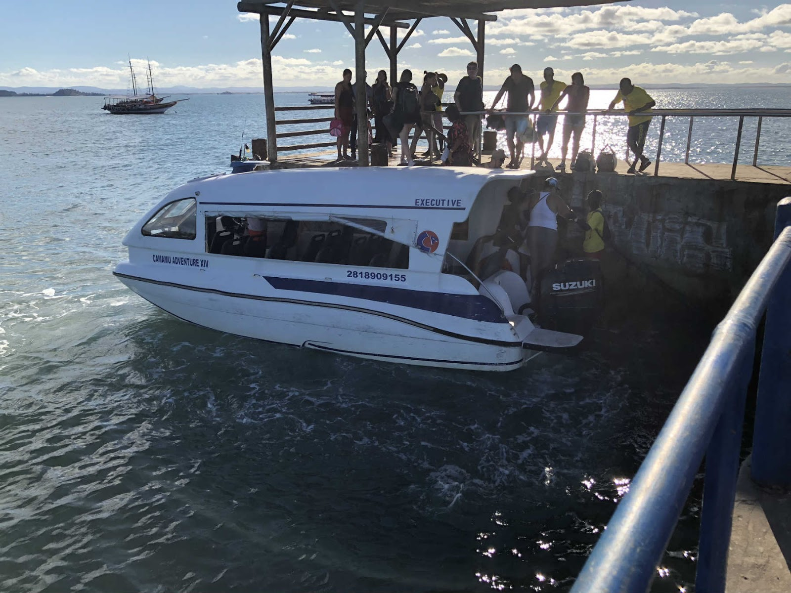 Lancha rápida para Barra Grande - Península de Maraú