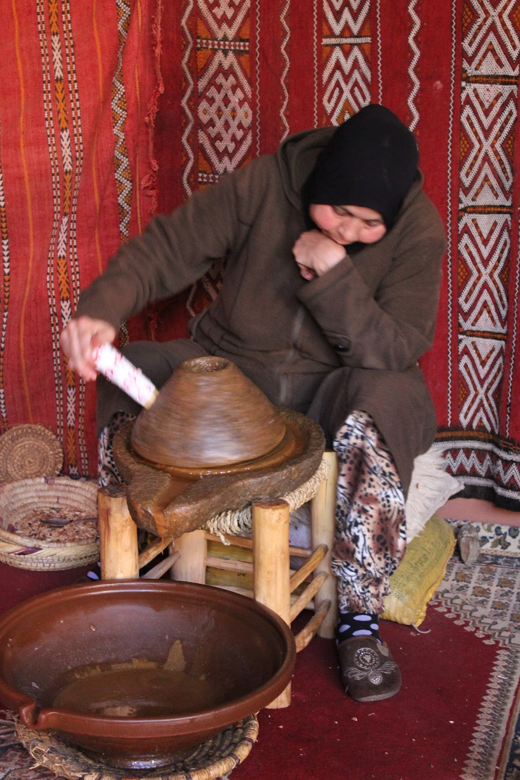 Argan extraction