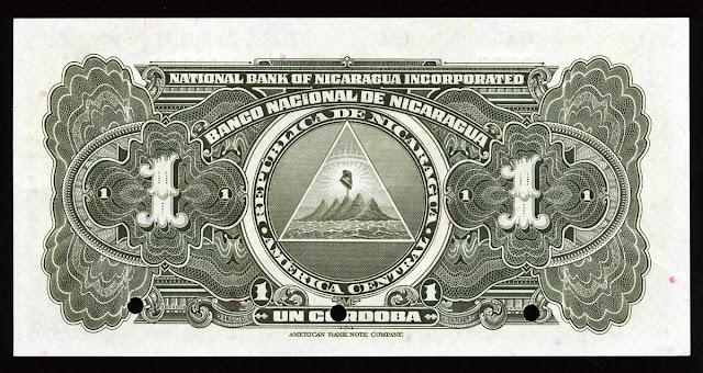 Nicaraguan Cordoba banknote