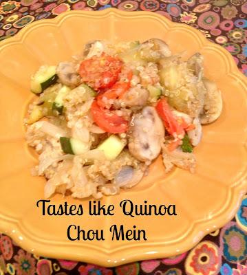quinoa Chinese style