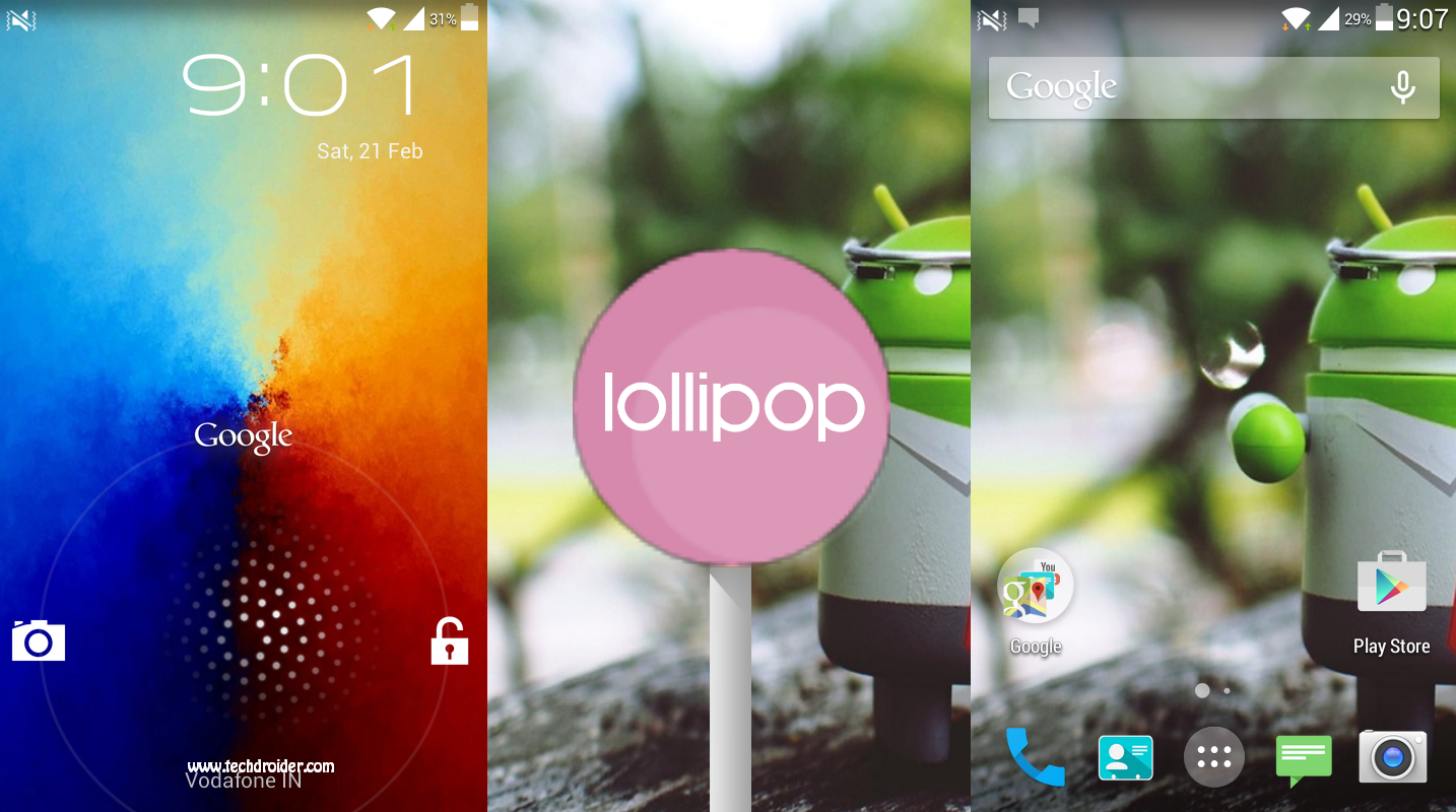 [ Build 3 ] Lollicop Rom for Samsung Galaxy Core duos I8262