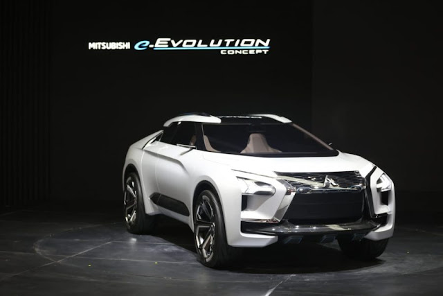 SUV masa depan Mitsubishi e-Evolution Concept