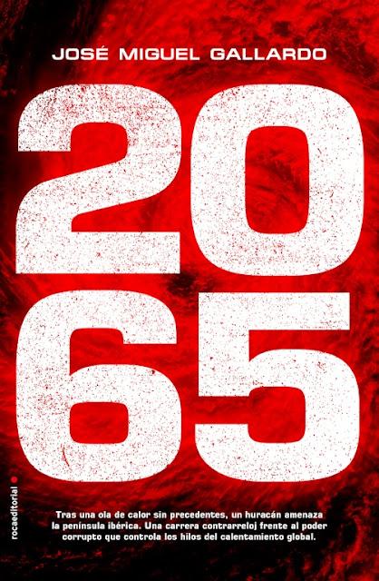 2065 Novela de José Miguel portada del libro