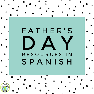 Father's Day Resources in Spanish for Kids