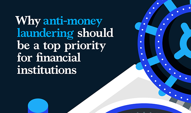 Why should anti-money laundering be a top priority for financial institutions #infographic