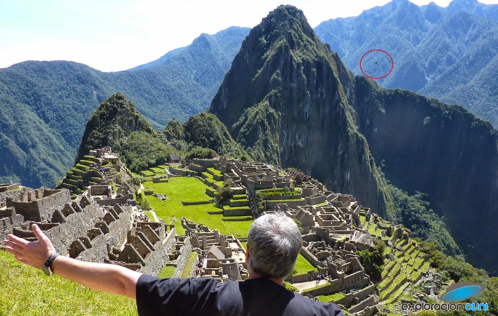 Anomalía encontrada en fotografía de Machu Picchu tomada por turista uruguayo