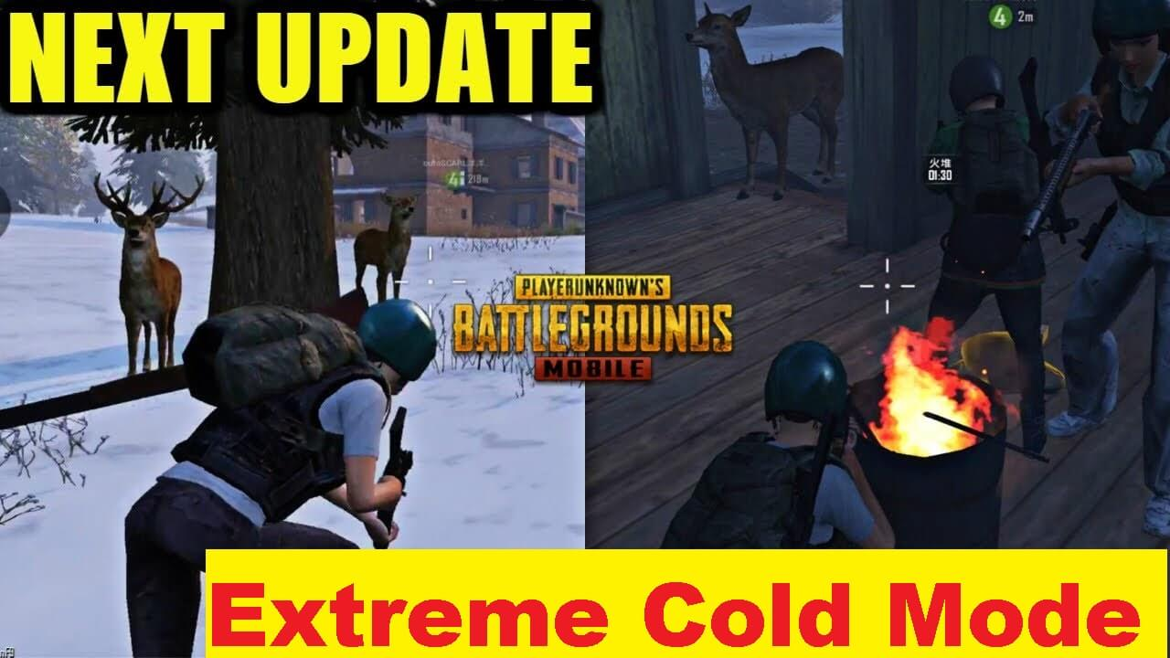 Extreme Cold Mode to come in PUBG Mobile 0.16.5 update?