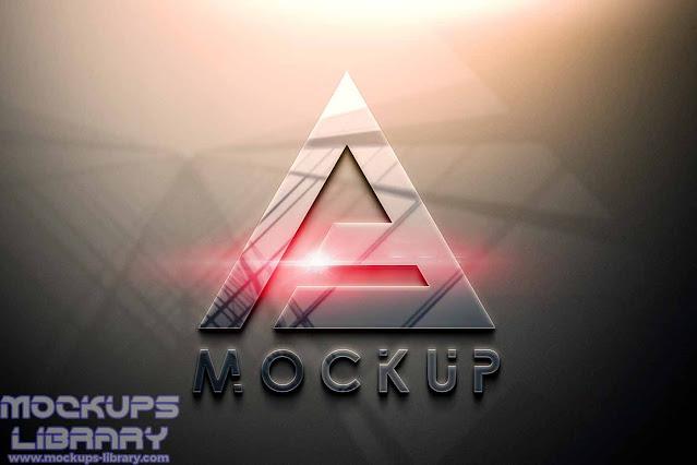 free psd logo mockup 2