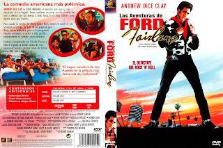 Las aventuras de Ford Fairlane - Carátula Dvd