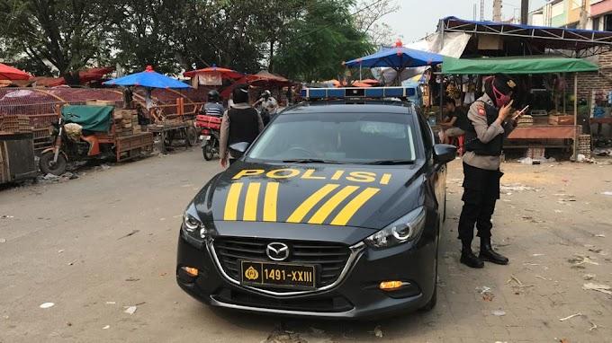 Jelang Penerapan New Normal, Polwan Ditsampata Polda Banten Lakukan Patroli Nong Jawara