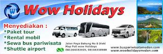 WOW Holidays Medan
