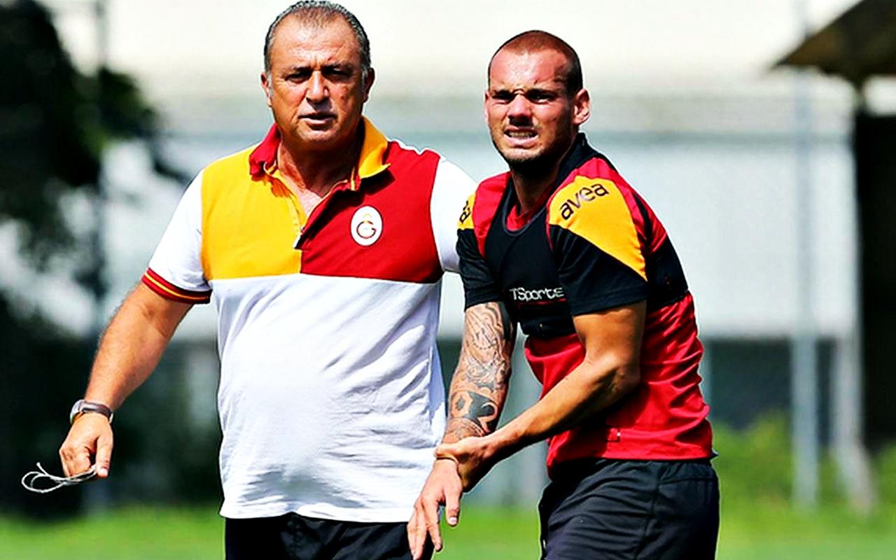 Wesley Sneijder Fatih Terim
