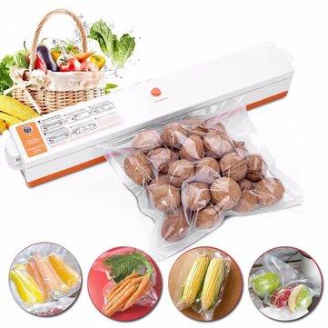 Food Bag Sealer: Electric Vacuum Sealing Machine - Kitchen Appliances