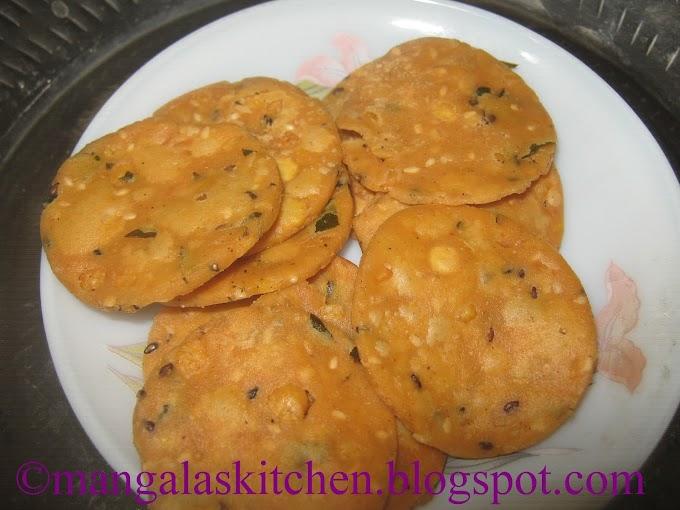 Crispy Thattai Recipe | Thattai Murukku | Krishna jayanthi Recipes | Diwali Recipe