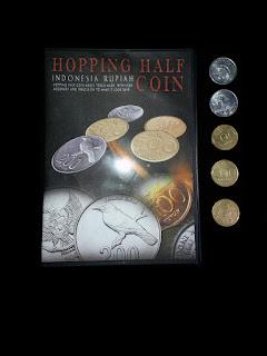 toko sulap jogja Hopping Half Coin Magic