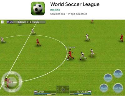 games sepak bola offline android