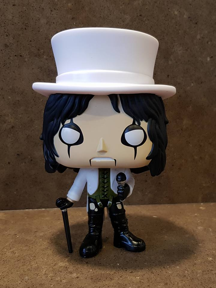 Lupine Book Club Pop Rocks Alice Cooper Top Hat