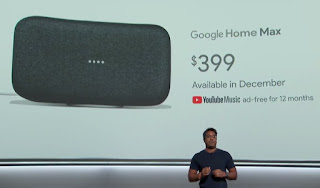 Google Home Max Launches In December 2017 For $399