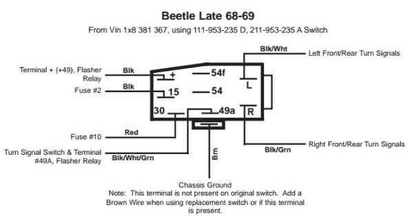 Volkswagen Bhazard on 4 Wire Light Wiring Diagram