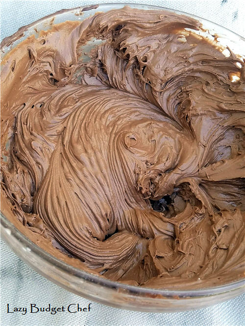 chocolate hazelnut icing frosting recipe