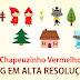 Imagens Chapeuzinho Vermelho em .PNG