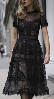 فستان زهير مراد اسود