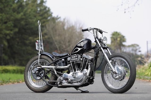 Harley Davidson XLCH 1975 By Motoshop Tonouchi Hell Kustom