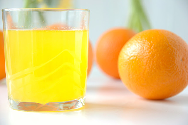 How to make the orange syrup