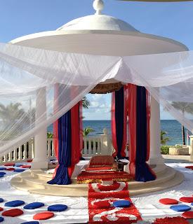 Wedding Gazebo Indian Wedding Barceló Riviera Maya Palace Sikh Wedding
