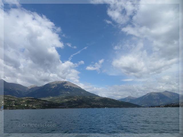Visite autours du Lac de Serre - Ponçon