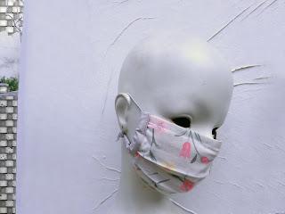 face mask, for men, women fashion, grey face mask, flowers, travel mask, dust mask, Etsy shop, Vesna Kolobaric