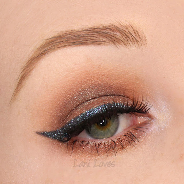 Notoriously Morbid High School Hellcat Eyeshadow Swatches & Review