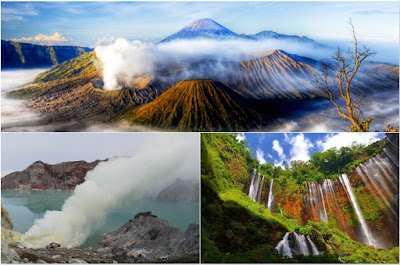 Mount Bromo, Tumpak Sewu Waterfall, Ijen Crater tour