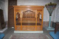 Uzbekistan, Kokand, Khodayar Khan Palace, aiwan, topchan, © L. Gigout, 2012