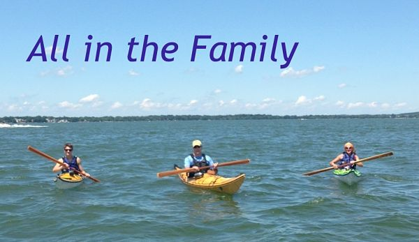 Langlie Family Enjoying Their NorthPoint Paddles